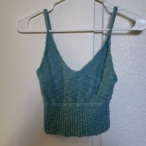 Tops - URBAN OUTFITTERS Knitted Crop Top
